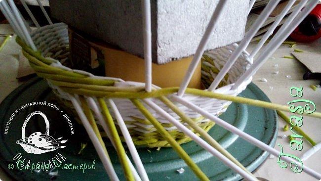 Мастер-класс Плетение Небольшой МК загибки Бумага Бумага газетная Трубочки бумажные фото 11