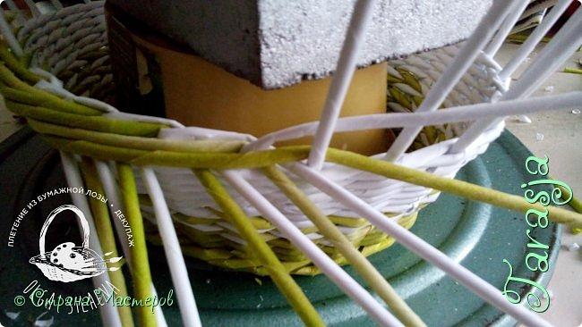 Мастер-класс Плетение Небольшой МК загибки Бумага Бумага газетная Трубочки бумажные фото 12