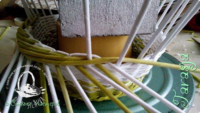 Мастер-класс Плетение Небольшой МК загибки Бумага Бумага газетная Трубочки бумажные фото 15