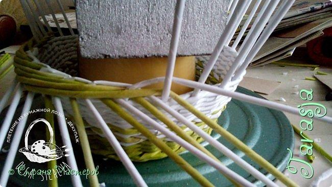 Мастер-класс Плетение Небольшой МК загибки Бумага Бумага газетная Трубочки бумажные фото 16