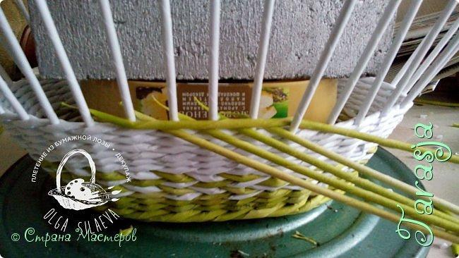 Мастер-класс Плетение Небольшой МК загибки Бумага Бумага газетная Трубочки бумажные фото 3