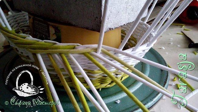 Мастер-класс Плетение Небольшой МК загибки Бумага Бумага газетная Трубочки бумажные фото 10
