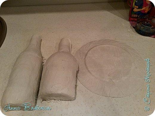 Картина панно рисунок Мастер-класс Лепка Моделирование конструирование Долгострой как я его делала   Гипс Краска Тесто соленое фото 9