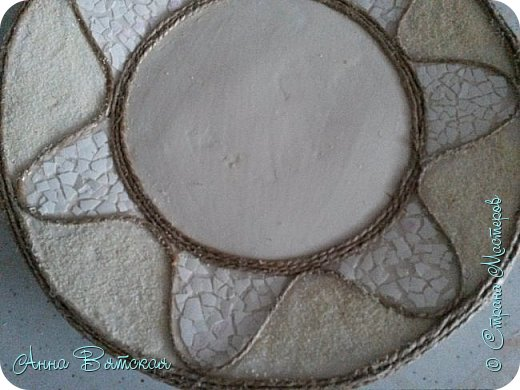 Картина панно рисунок Мастер-класс Лепка Моделирование конструирование Долгострой как я его делала   Гипс Краска Тесто соленое фото 15