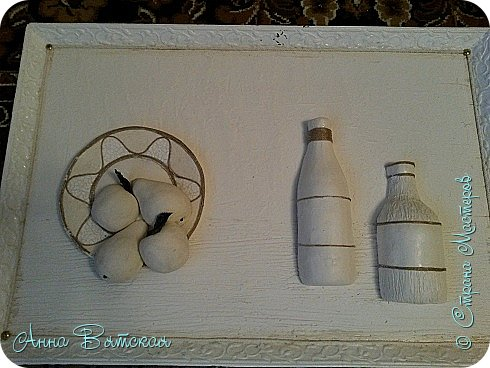 Картина панно рисунок Мастер-класс Лепка Моделирование конструирование Долгострой как я его делала Гипс Краска Тесто соленое фото 24