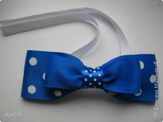 Сделала галстук бабочку для сынули на утренник, если есть уже подобный мастер класс,то я удалю ( может плохо искала) итак приступим фото 11