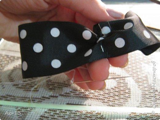 Сделала галстук бабочку для сынули на утренник, если есть уже подобный мастер класс,то я удалю ( может плохо искала) итак приступим фото 6
