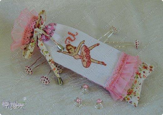 Поделка изделие Вышивка крестом Шитьё Балет балет балет   Канва Кружево Нитки Ткань фото 1