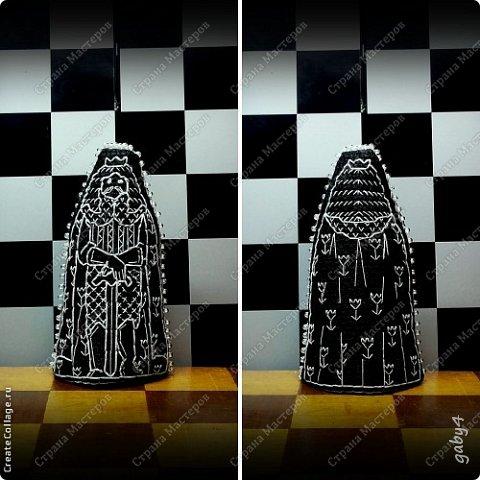 Игрушка Вышивка Шахматы в