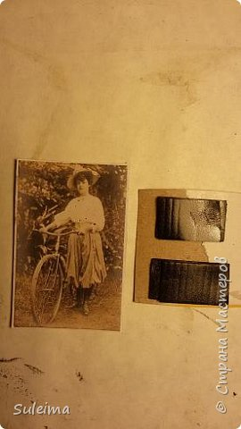 Картина панно рисунок Мастер-класс Аппликация Ассамбляж Ретро велосипед стимпанк Бумага Картон фото 20