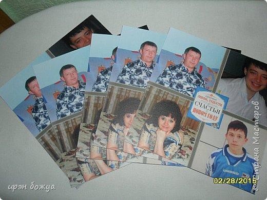 Вот такую поздравительную открытку я сделала маме на 8 марта. фото 2