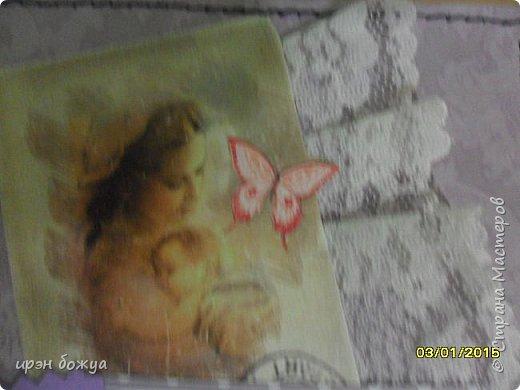 Очередные маленькие альбомчики из конвертов для CD-дисков. Часть 1,2,3 тут: https://stranamasterov.ru/node/873509 , https://stranamasterov.ru/node/883334 и https://stranamasterov.ru/node/889553 фото 24