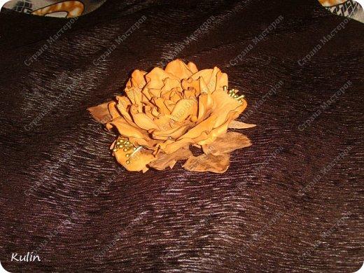 Завтра мероприятие... вот родилась такая роза к платью.... фото 2