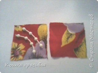 Сегодня я расскажу, как сделать очень простые, но эффектные цветы для заколок и других украшений.  фото 5