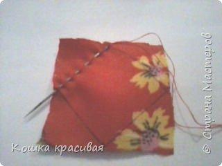 Сегодня я расскажу, как сделать очень простые, но эффектные цветы для заколок и других украшений.  фото 7