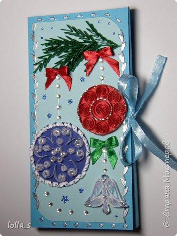 Новогодние шоколадницы и открытки фото 5