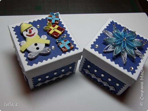 Новогодние шоколадницы и открытки фото 7