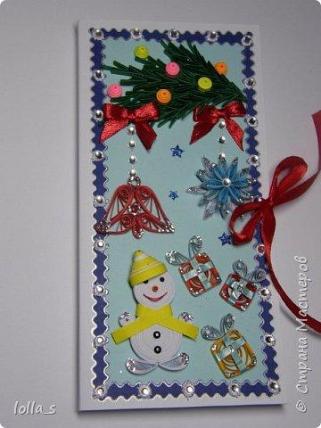 Новогодние шоколадницы и открытки фото 6