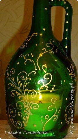 """Я ее назвала """" Лампа Аладдина """" . там внутри ароматизированная свеча  фото 2"""