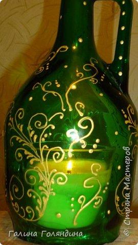 """Я ее назвала """" Лампа Аладдина """" . там внутри ароматизированная свеча  фото 3"""