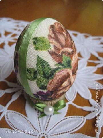 Мастер-класс Поделка изделие Пасха Моделирование конструирование Заготовка для яиц быстро и недорого Клей Салфетки Скорлупа яичная фото 13