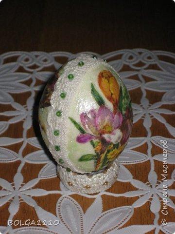 Мастер-класс Поделка изделие Пасха Моделирование конструирование Заготовка для яиц быстро и недорого Клей Салфетки Скорлупа яичная фото 15