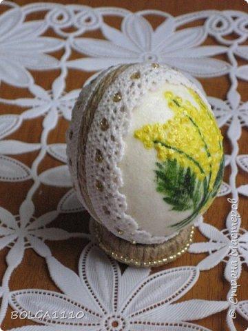 Мастер-класс Поделка изделие Пасха Моделирование конструирование Заготовка для яиц быстро и недорого Клей Салфетки Скорлупа яичная фото 14
