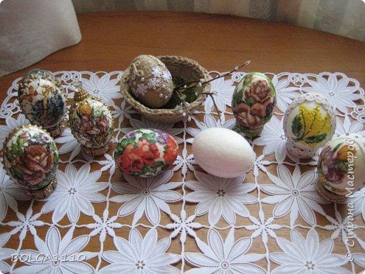 Мастер-класс Поделка изделие Пасха Моделирование конструирование Заготовка для яиц быстро и недорого Клей Салфетки Скорлупа яичная фото 17