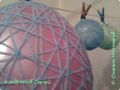 Вот такие шары у меня получились... фото 8