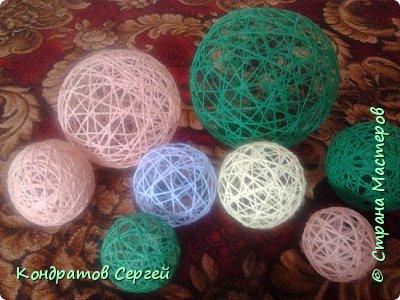 Вот такие шары у меня получились... фото 1