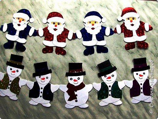 Новый год - самый яркий из всех праздников в году. А вот новогодние вытынанки делают из бумаги одного цвета, обычно белого, иногда добавляя фон другого цвета. Но мне захотелось сделать их яркими, новогодними. За основу взял обычные вытынанки из интернета. Новогодние вытынанки. фото 27