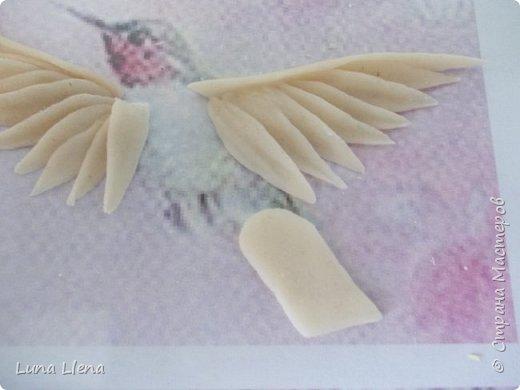 Мастер-класс Лепка Яркий эльф тропического утра Колибри Тесто соленое фото 12