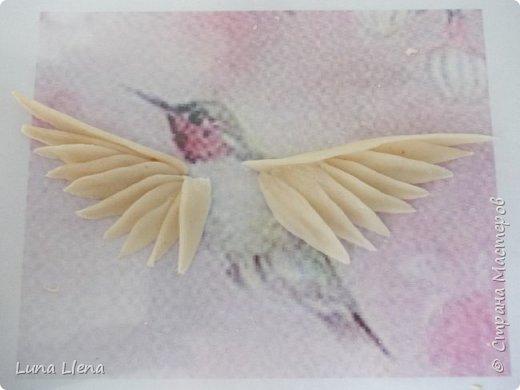 Мастер-класс Лепка Яркий эльф тропического утра Колибри Тесто соленое фото 11
