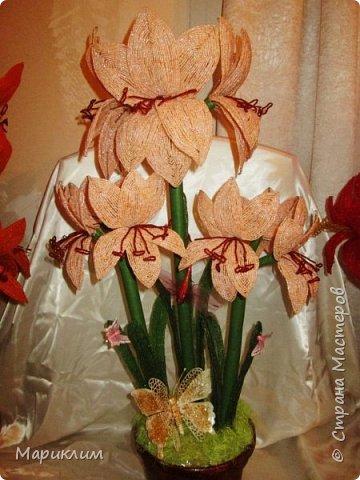 мои цветы из бисера новые работы фото 1