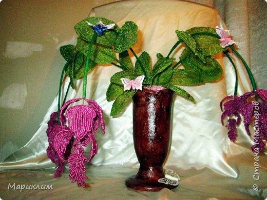 мои цветы из бисера новые работы фото 4