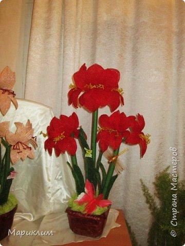 мои цветы из бисера новые работы фото 7