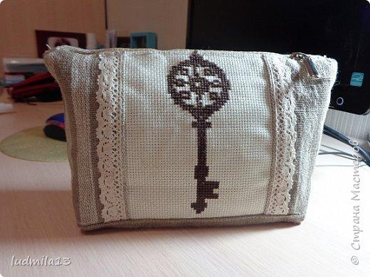 Здравствуй, Страна!!!! Сшила свою первую сумку с вышивкой)))) фото 8