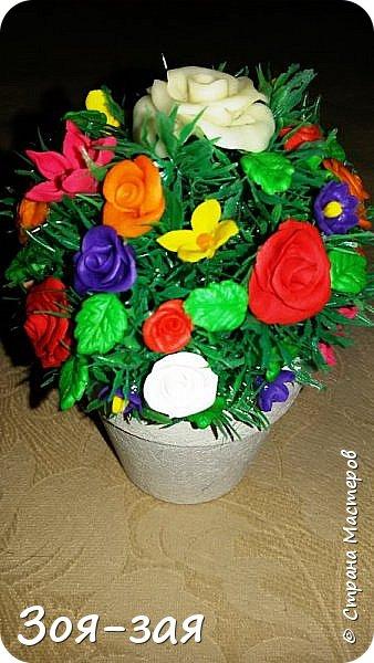 Этой вазе я дала вторую жизнь, у неё на верху был скол и трещина. фото 29