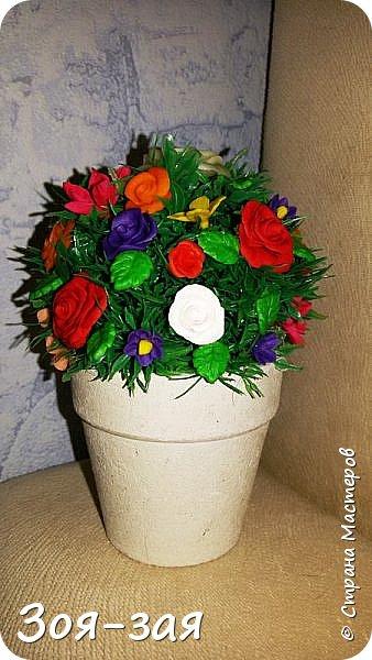 Этой вазе я дала вторую жизнь, у неё на верху был скол и трещина. фото 30