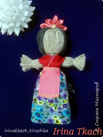 Цветок канзаши (на заказ) фото 4