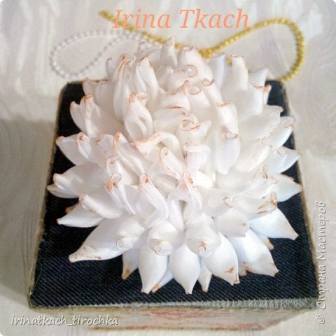Цветок канзаши (на заказ)