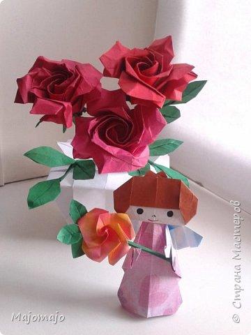 Оригами Ангел  фото 2