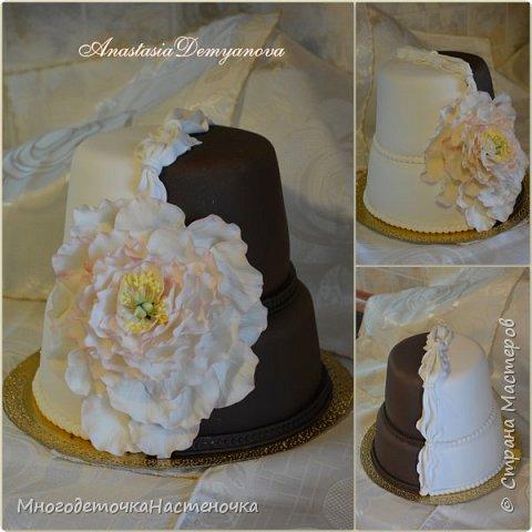 Свадебный торт  фото 1