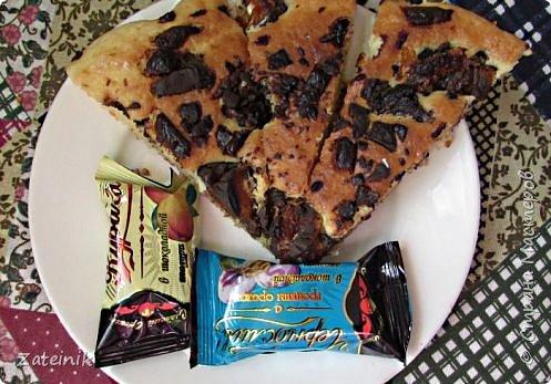 """Торт с конфетами """"Курага и чернослив в шоколаде""""  фото 1"""