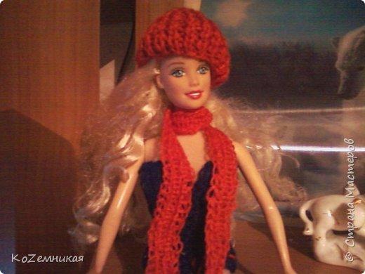 Несколько лет назад шила и вязала барбейкам одежки. Это были мои первые кукольные работы для дочкиных кукол. К сожалению, они не сохранились. И куклешек многих уже нет. Только фотки остались фото 7