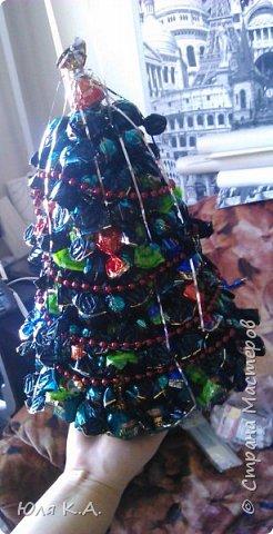 Подарок на Новый год... Сладкая елочка. Это мой опыт в свит-дизайне (хотя я даже не уверена, что это свит-дизайн) фото 3