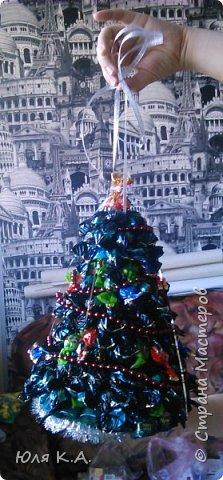 Подарок на Новый год... Сладкая елочка. Это мой опыт в свит-дизайне (хотя я даже не уверена, что это свит-дизайн) фото 2