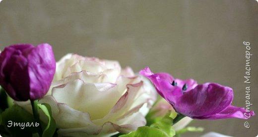 Всем доброго дня! Спешу поделиться с вами своей новой работой. У меня прям какая то страсть к розам,  что бы я не делала, всё время думаю о них. Случайно мне попался на глаза каталог с розами, я даже представить себе не могла, что их такое разнообразие. И все такие безумно красивые!!! Уже представляю какой будет следущая роза))) Фоток много, так что желаю приятного просмотра!!! фото 8