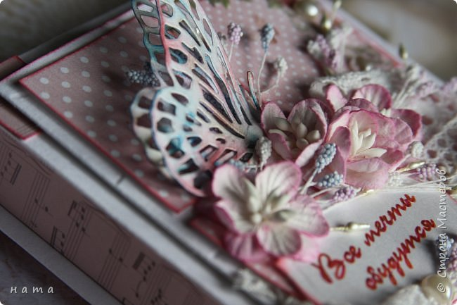 """Поскрапила немножко))) В подарок на свадьбу сотворился вот такой """"комодик-открытка"""" для денежки - три в одном, так сказать фото 9"""