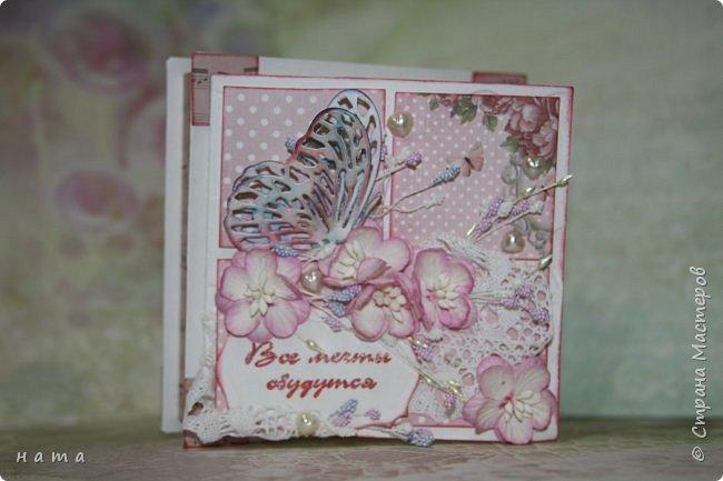 """Поскрапила немножко))) В подарок на свадьбу сотворился вот такой """"комодик-открытка"""" для денежки - три в одном, так сказать фото 6"""